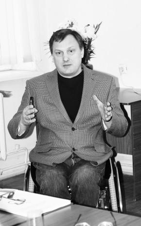 Владимир Азин, представитель ОО «Группа активной реабилитации», Украина