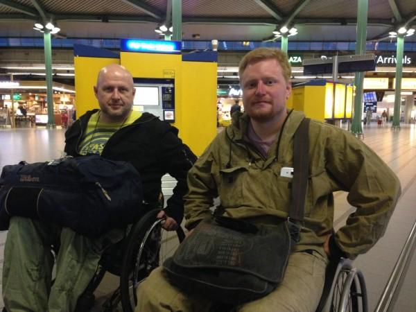 В Амстердамском аэропорте