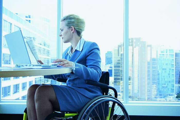 disabled-businesswoman