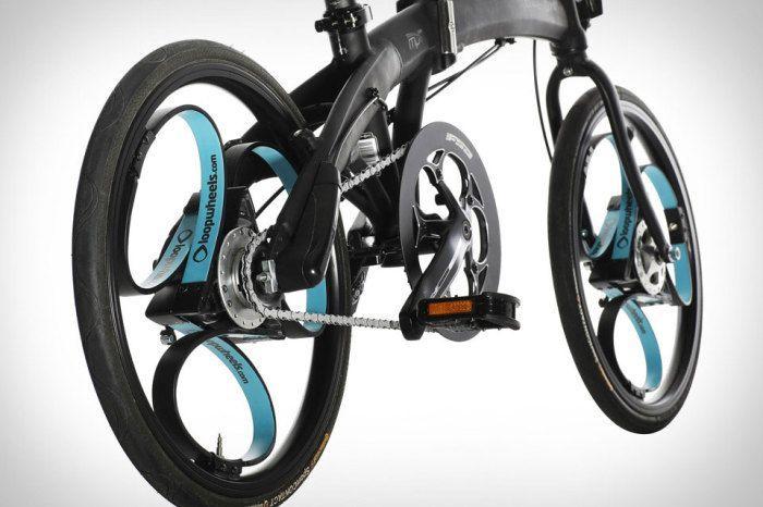 ... и для велосипедов.
