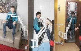 MINIK - самый маленький универсальный электрический подъёмник для инвалидов