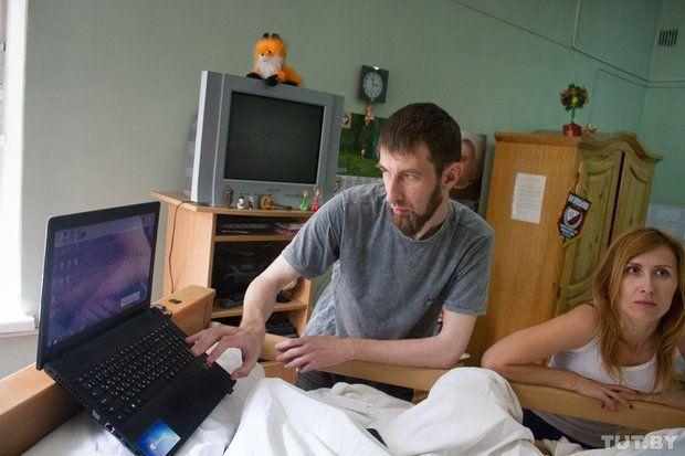 Композитор Александр Косинский и подруга Вовы Ирина.