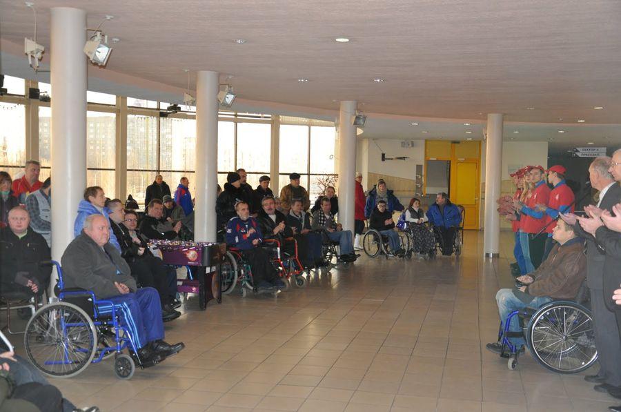 Киеве знакомство инвалидов в