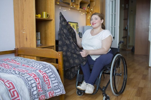 Александра уверена: инвалидность не должна накладывать на человека отпечаток «серой мыши»