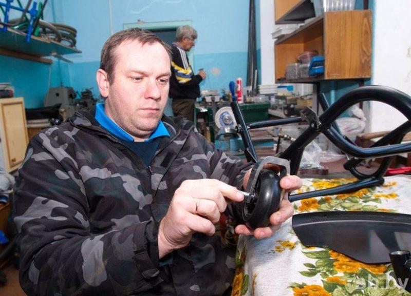 Александр МАХОРТОВ создал бизнес, чтобы дать работу другим инвалидам.
