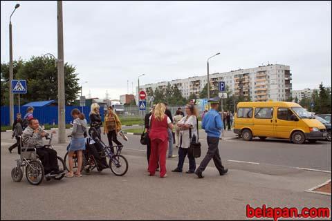 В Витебске прошла акция по выявлению лжеинвалидов на парковке