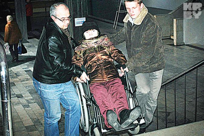 Для инвалида попасть на концерт - как Потемкинскую лестницу штурмом взять