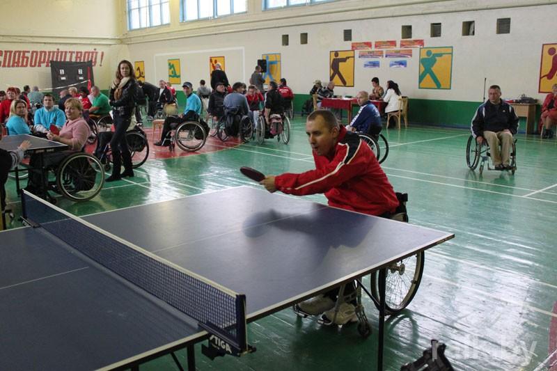 Приглашаем принять участие в IV Международной спартакиаде среди инвалидов-колясочников в городе Мозыре