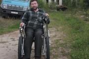 Блеск и нищета бывшего фермера, а ныне инвалида-колясочника, Валентина Грицука