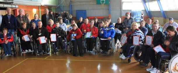 10-е открытые соревнования инвалидов-колясочников «Мужество-2012»