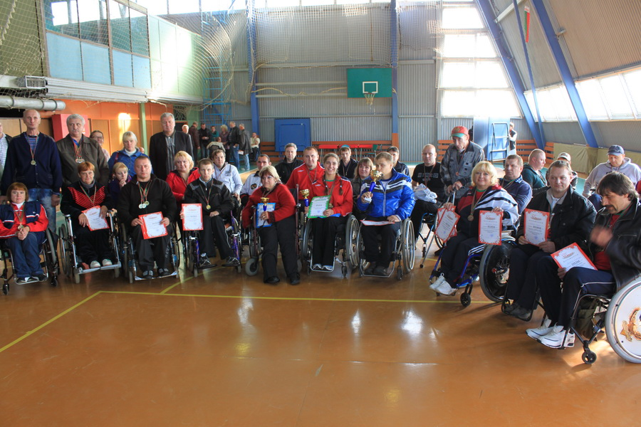 Настоящее мужество на соревновании инвалидов-колясочников