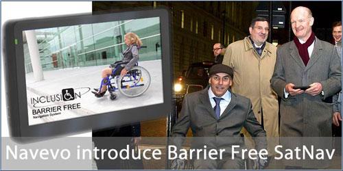 Navevo и Thales Alenia Space изобрели GPS навигацию для инвалидов-колясочников