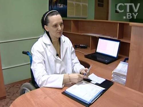 Фото. Светлана Менькова, администратор Гомельской областной медико-реабилитационной экспертной комиссии
