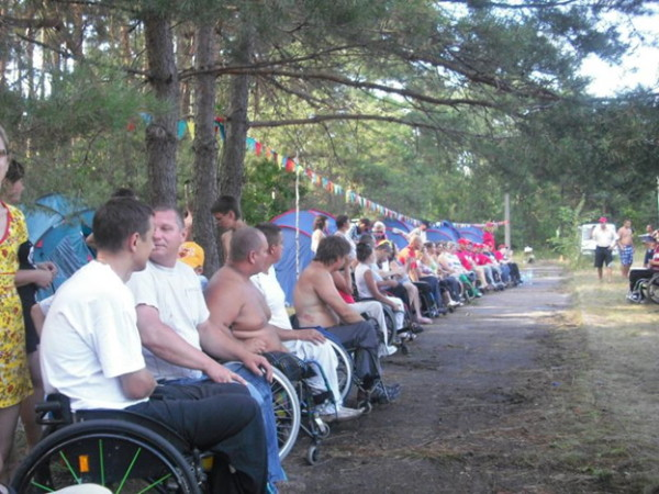"Mozyr IOPA ""RAIK"" invites you to the 4th Republican Tourist Camp for wheelchair users ""Poleskie zori""."