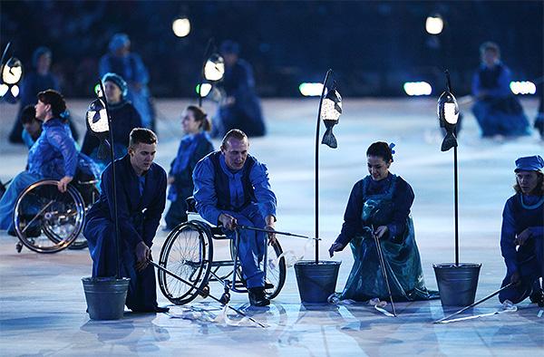 Церемония открытия XI зимних Паралимпийских игр