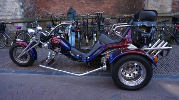 Красивый трицикл или трайк