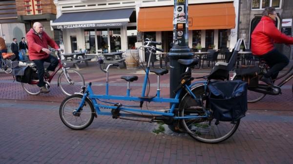 Семейный велосипед.