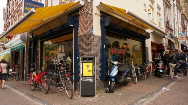 Знаменитый голландский кофешоп