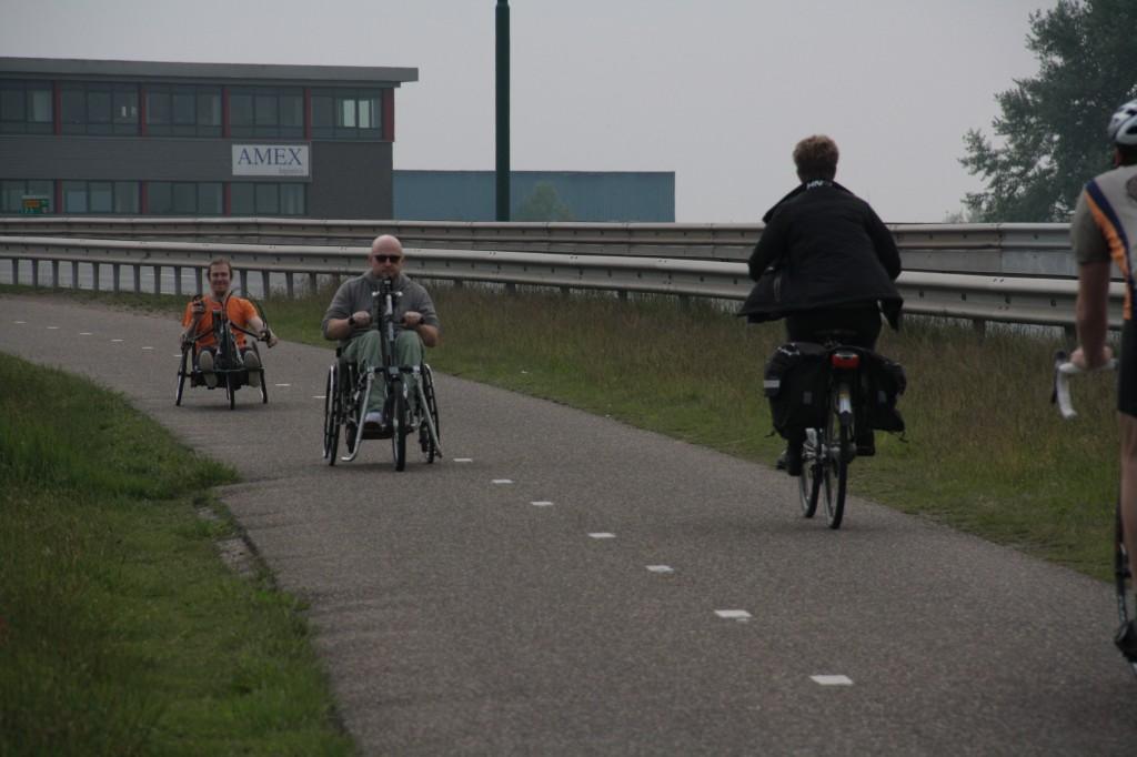 Дневник поездки на хэндбайках по Голландии. День 2.