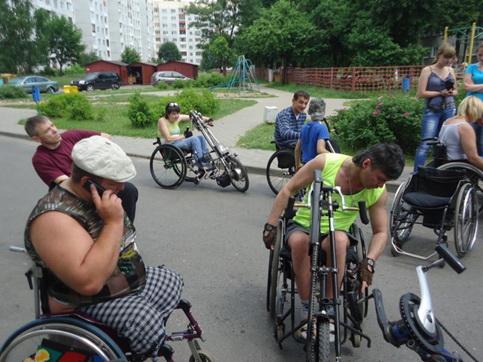 Бобруйская организация ОО «РАИК» приглашает всех желающих инвалидов-колясочников на байкер-фэст в Бобруйск