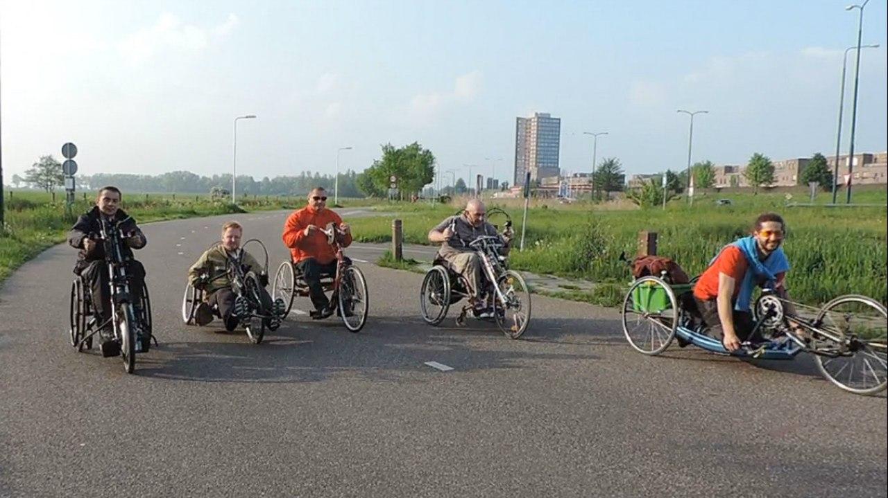 7 июня  на сайте ОО «РАИК» прошла ОНЛАЙН-трансляция проезда колясочников на велобайках по Бобруйску