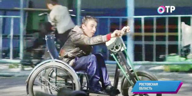 Конструктор Виктор Филин создает уникальные инвалидные коляски, приспособленные под конкретного человека
