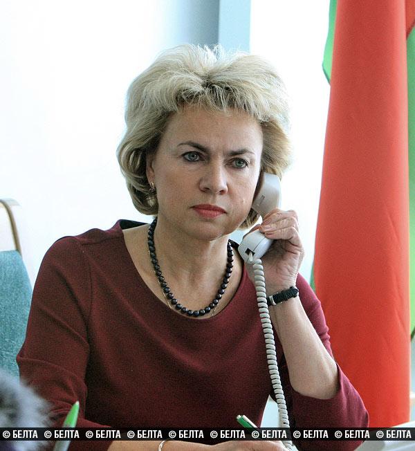 Марианна Щеткина Министр труда и социальной защиты Беларуси