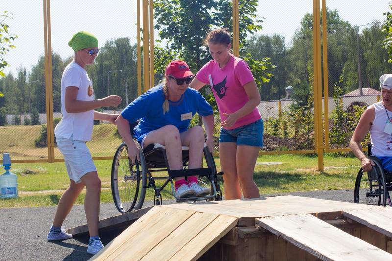 Республиканский спортивный слёт инвалидов-колясочников 2014