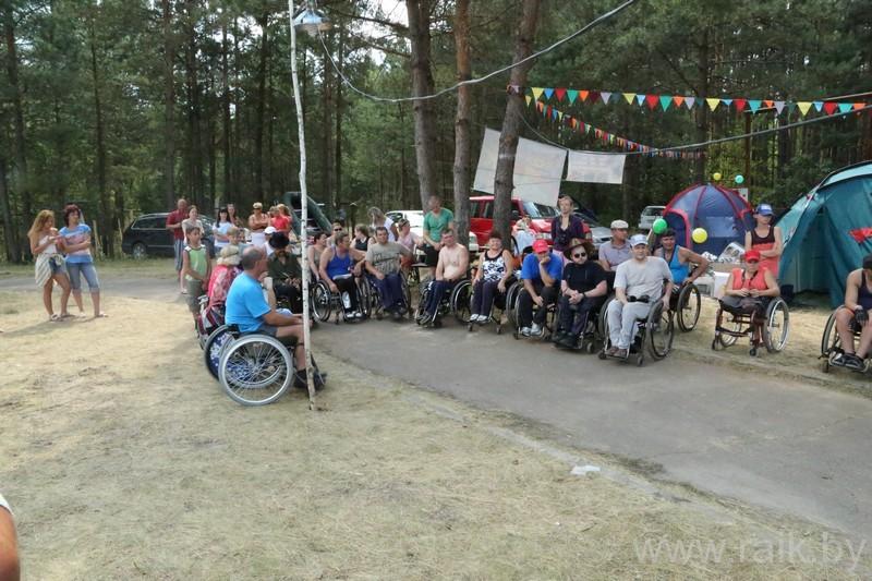 5-й Республиканский туристический слет среди инвалидов-колясочников «Полесские зори»