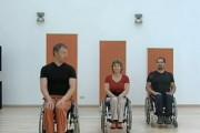 Гимнастика для инвалидов - колясочников