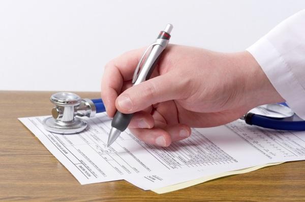 Filing medical record