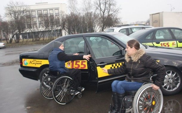 Лидские маршрутки и такси станут комфортнее для инвалидов-колясочников
