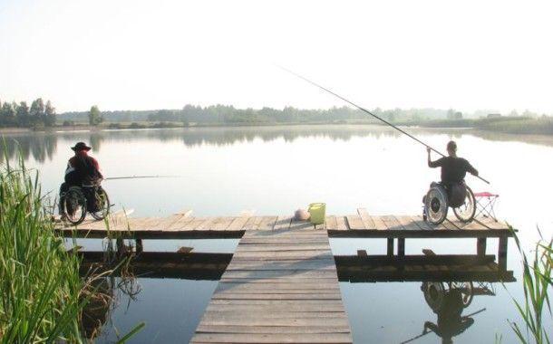 29-30 мая прошёл I-ый Чемпионат РБ по рыбной ловле поплавочной удочкой среди инвалидов - колясочников