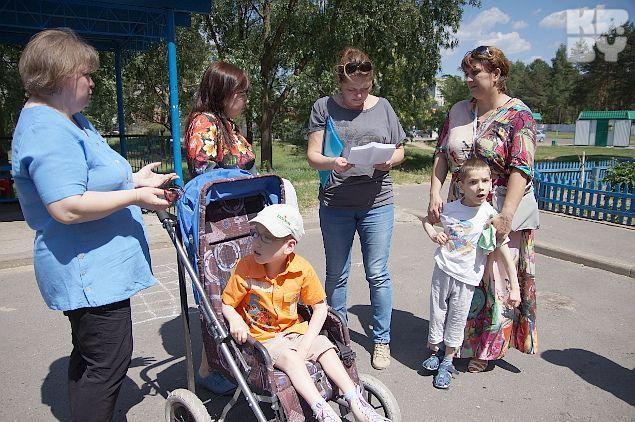 Заявление подписали также матери детей с особенностями развития Фото: Павел МИЦКЕВИЧ