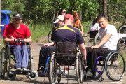 Игры, конкурсы, рыбалка: турслет инвалидов-колясочников прошел на Гомельщине