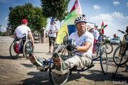 Инвалид-колясочник из Украины проехал на Hand bike 570 км, завершив супермарафон в Могилеве