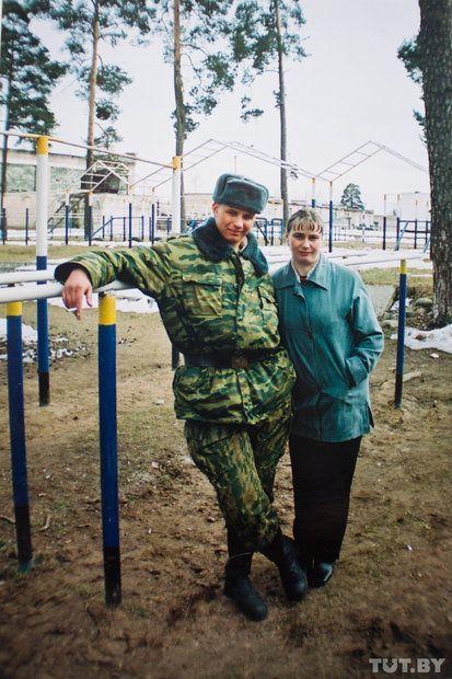 Владимир с мамой.