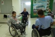 Лагерь активной реабилитации для инвалидов-колясочников с травмами шейного отдела позвоночника. Видеоотчёт: День 3-й.