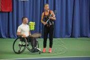В Минске Виктория Азаренко провела мастер-класс для юных теннисистов и теннисистов-колясочников