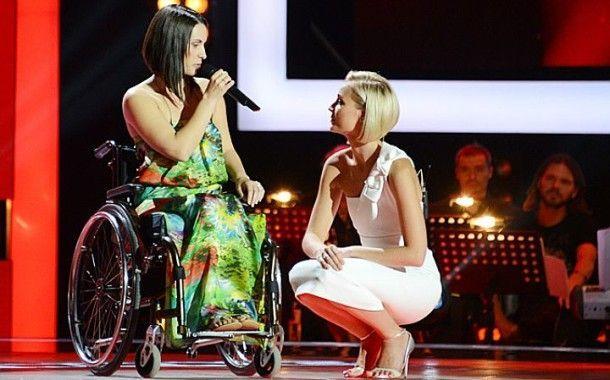 Девушка - колясочница из Тольятти выступила на шоу «Голос»