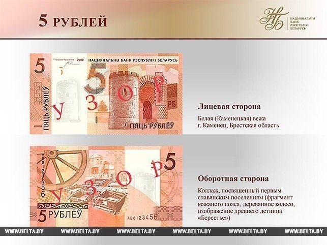 новые деньги Беларуси