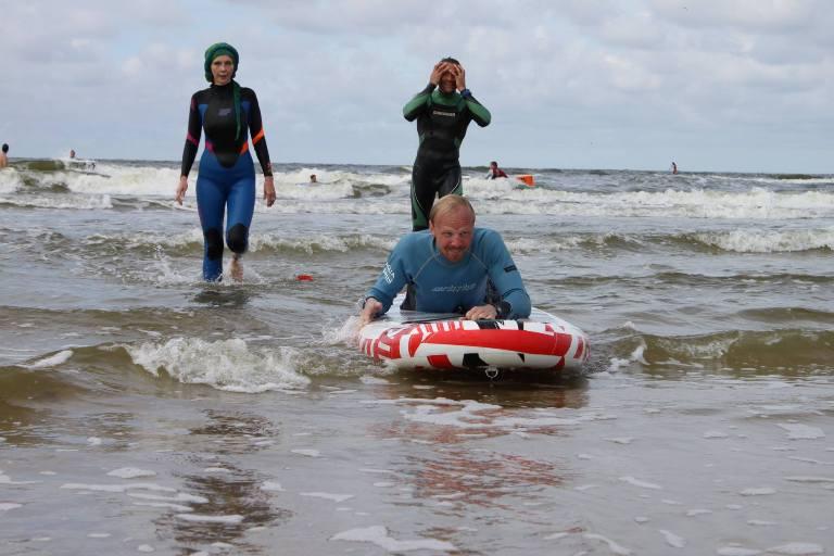 Во время балтийского путешествия встречи были неожиданными и приятными. С особой радостью Саша вспоминает знакомство с литовскими серфингистами.