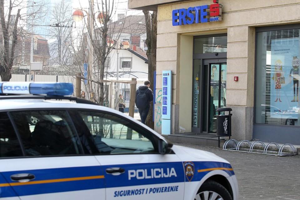 Инвалид - колясочник ограбил хорватский банк