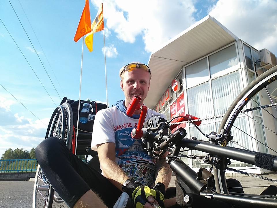 Покорить Америку. Белорус на инвалидной коляске собрал 100 миллионов на уникальное путешествие