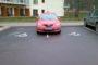 Гомельские водители получают штрафы за парковку на местах для инвалидов
