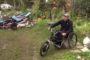 Байкер‐инвалид из Серпухова изобрел для себя мотоцикл