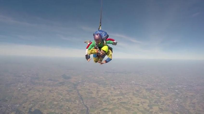 Белорусская команда по парашютному спорту Handifly впервые выступила на соревнованиях во Франции