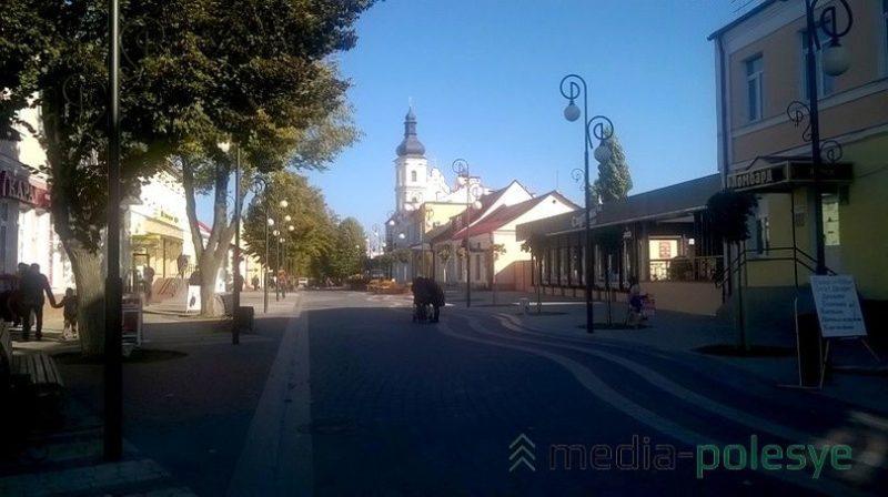 Обновленная улица Ленина