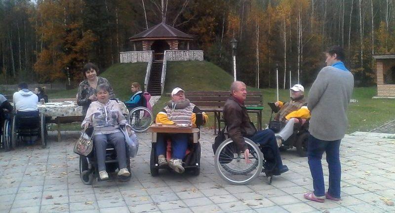 Организация отдыха инвалидов-колясочников