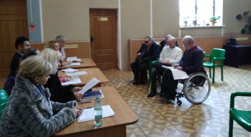 Круглый стол с властью по проблемам инвалидов